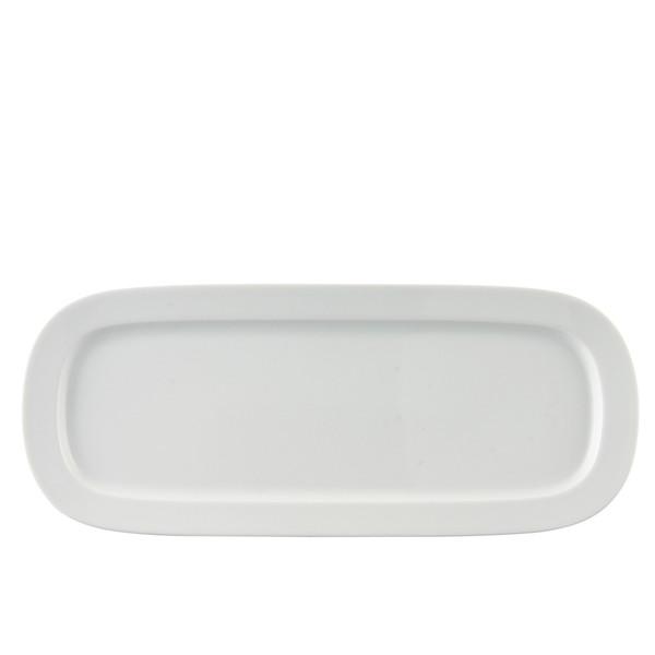 Platter, Sandwich, 14 1/2 x 6 inch | Thomas Vario White