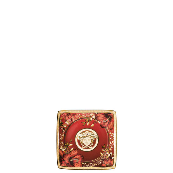 Canape Dish, square, 4 3/4 inch | Versace Christmas Blooms