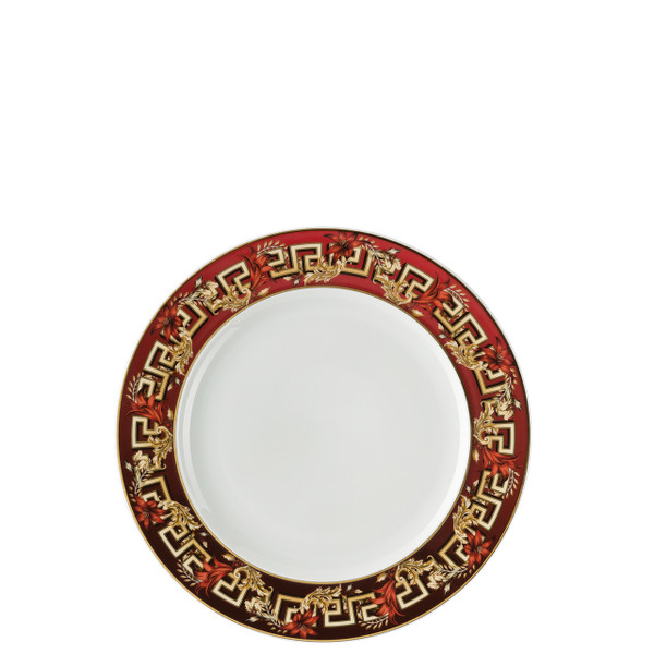 Salad Plate, 8 1/2 inch | Versace Christmas Blooms