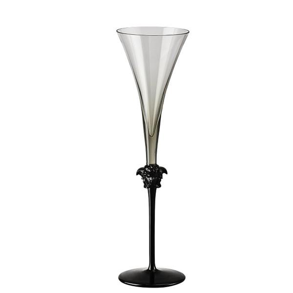 Champagne Flute, 12 inch, 6 ounce | Medusa Lumiere Haze