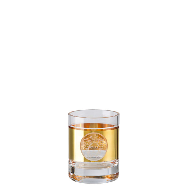 write a review for Whisky tumbler, round | Versace Medusa Madness Oro