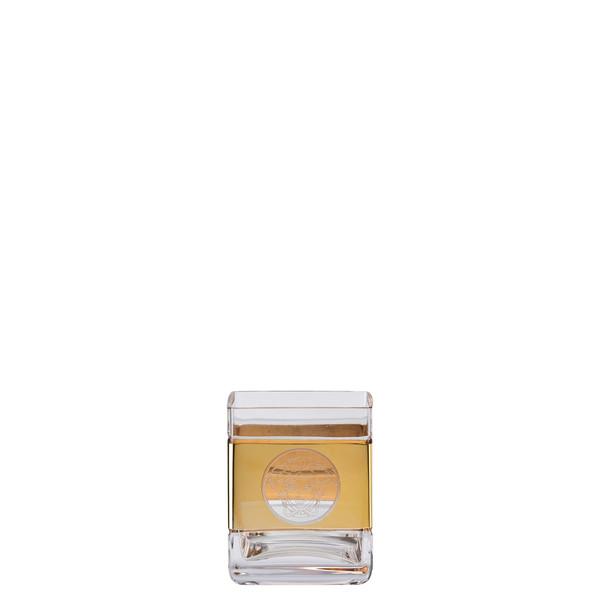 Whisky tumbler, square   Versace Medusa Madness Oro