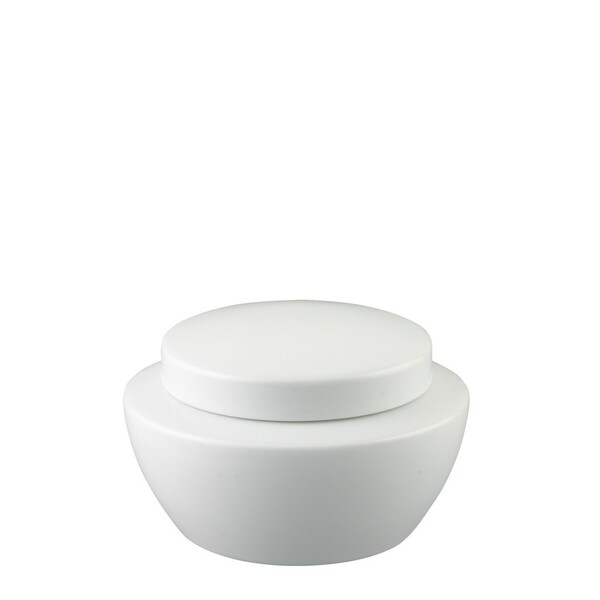 Sugar Bowl, Covered, 10 ounce | Thomas Vario White