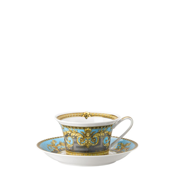write a review for Tea Cup & Saucer, 6 1/3 inch, 7 ounce | Prestige Gala Bleu