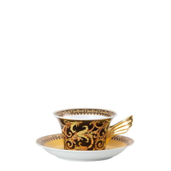 write a review for Tea Cup & Saucer, 6 1/4 inch, 7 ounce | Barocco