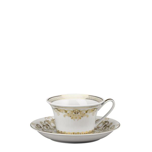 Tea Cup & Saucer, 6 1/4 inch, 7 ounce | Medusa Gala
