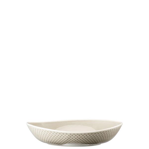 Soup Plate, Deep, Pearl Grey, 8 2/3 inch | Junto