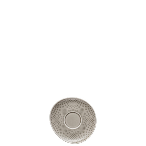 write a review for Espresso Cup Saucer, Pearl Grey, 4 3/8 inch | Junto