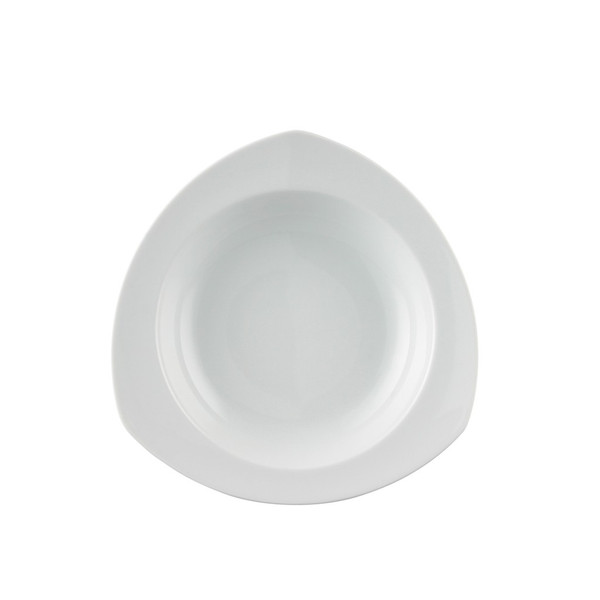 Rim Soup Bowl, 9 inch | Thomas Vario White