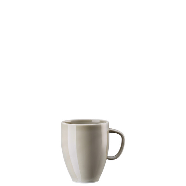 Mug with Handle, Pearl Grey, 12 3/4 ounce | Junto