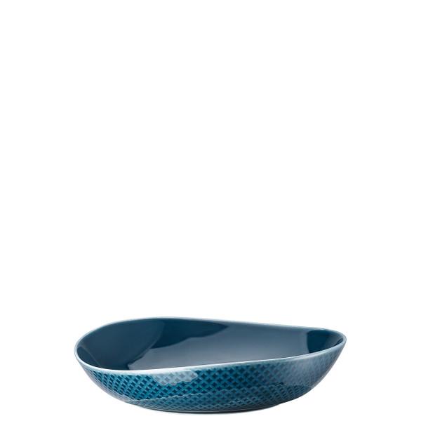 Soup Plate, Deep, Ocean Blue, 8 2/3 inch | Junto