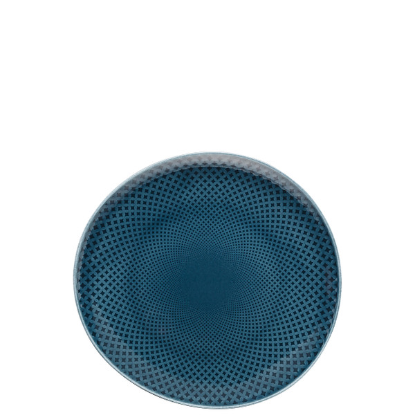 Salad Plate, Flat, Ocean Blue, 8 2/3 inch | Junto