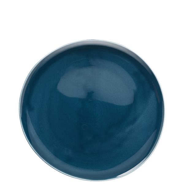 Dinner Plate, Flat, Ocean Blue, 10 1/2 inch | Junto