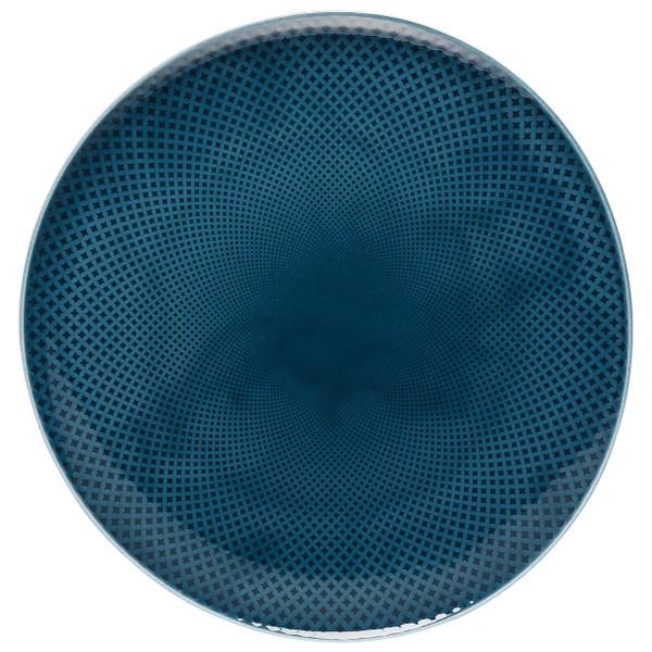 Service Plate, Flat 12 5/8 in Ocean Blue, 12 5/8 inch | Junto