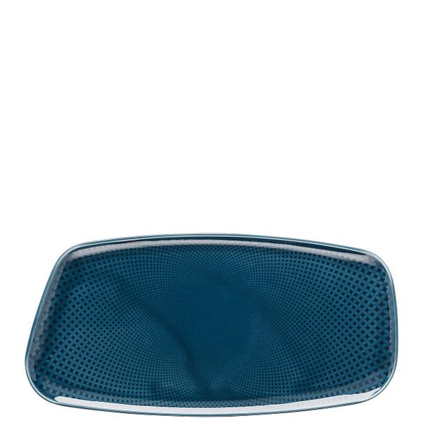 Platter, Rectangular, Ocean Blue, 11 3/4 x 6 inch | Junto
