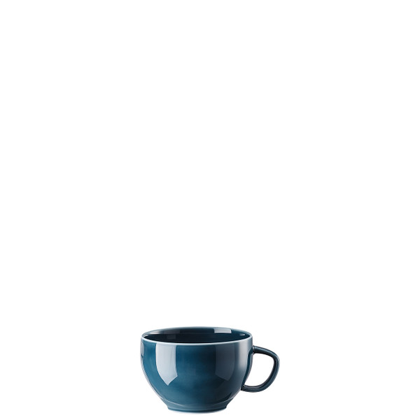 Tea Cup, Ocean Blue, 8 ounce | Junto