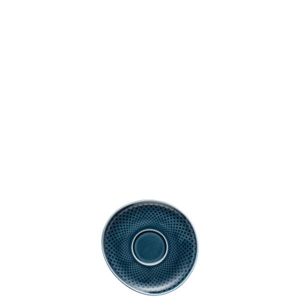 Espresso Cup Saucer, Ocean Blue, 4 3/8 inch | Junto