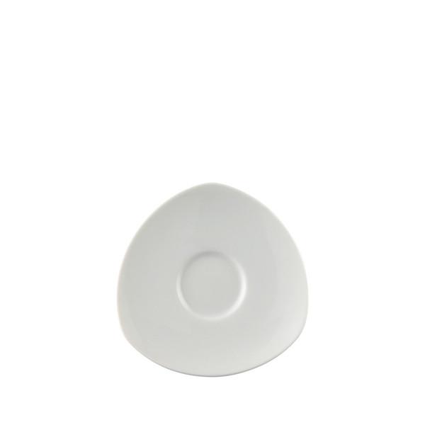 Espresso Saucer, 4 3/4 inch | Thomas Vario White