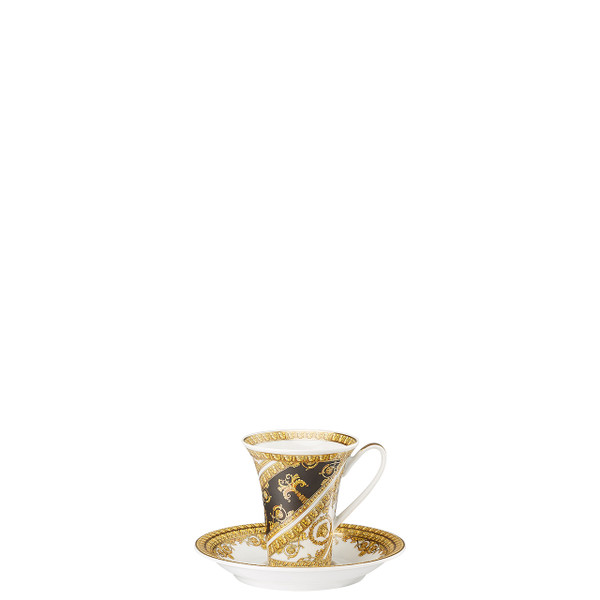 Espresso Cup and Saucer, 5 inch | I Love Baroque