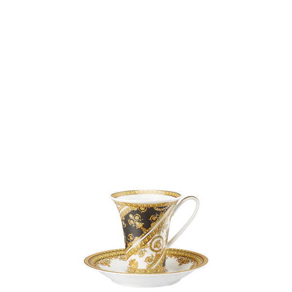 Coffee Cup and Saucer, 6 inch | I Love Baroque