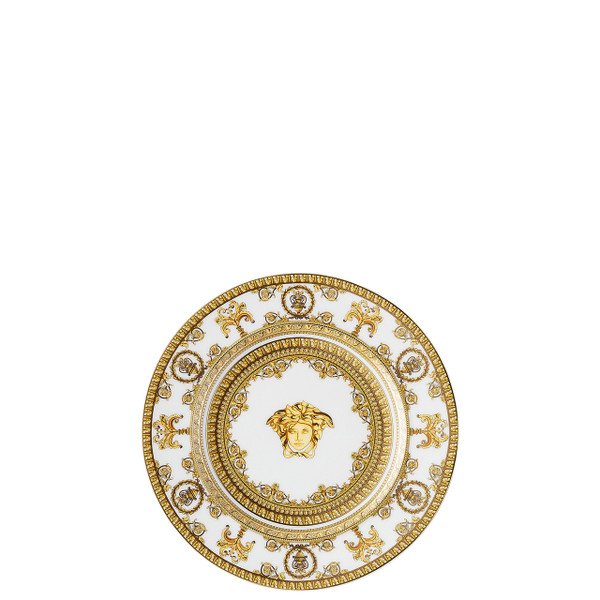 Bread and Butter Plate, 7 inch | I Love Baroque Bianco