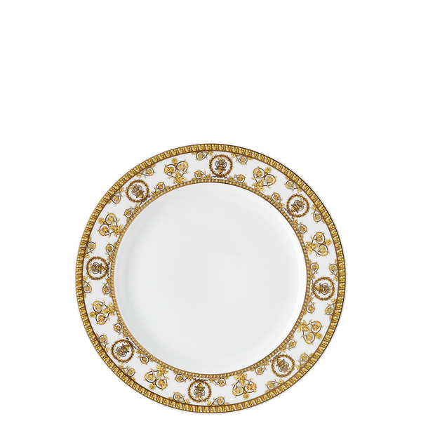 Salad Plate, 8 1/2 inch | I Love Baroque Bianco