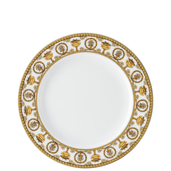 Dinner Plate, 10 1/2 inch | I Love Baroque Bianco