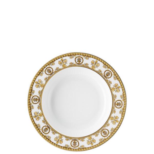 Rim Soup Plate, 8 1/2 inch | I Love Baroque Bianco