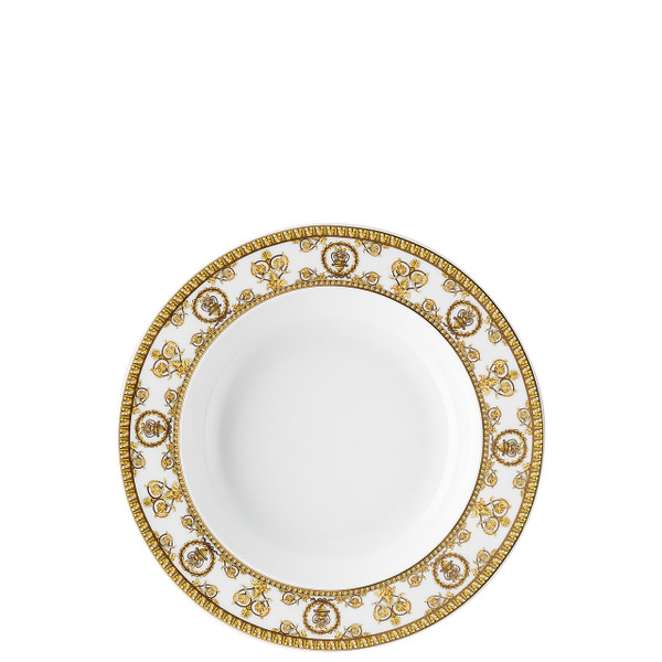 write a review for Rim Soup Plate, 8 1/2 inch | I Love Baroque Bianco