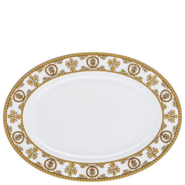 write a review for Platter, 13 1/2 inch | I Love Baroque Bianco