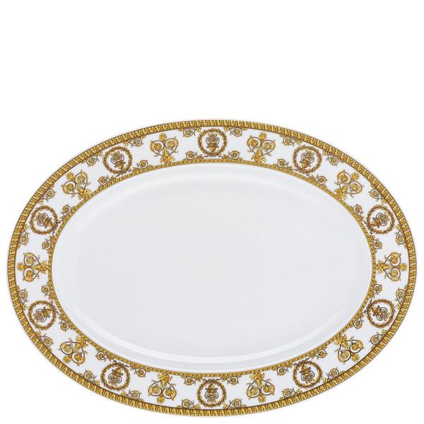 Platter, 13 1/2 inch | I Love Baroque Bianco