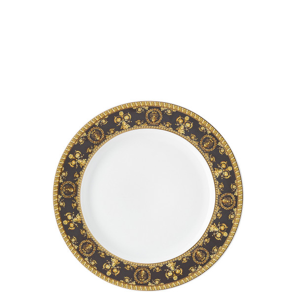 Salad Plate, 8 1/2 inch | I Love Baroque Nero