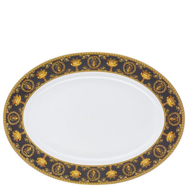 Platter, 15 3/4 inch | I Love Baroque Nero