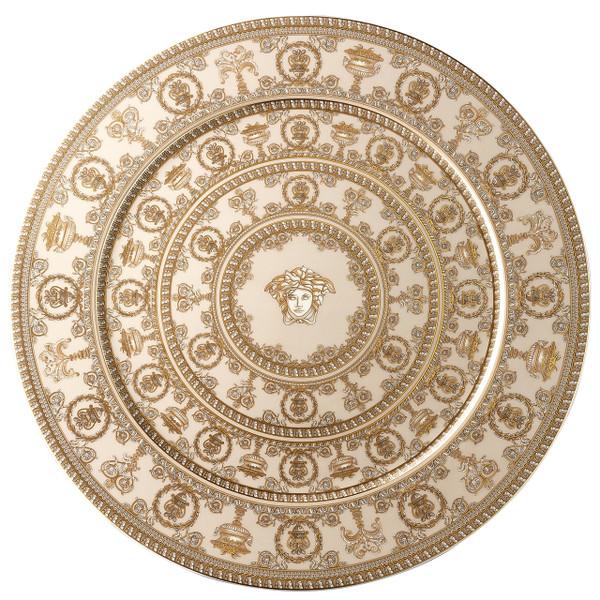 Service Plate, 13 inch | I Love Baroque Tapenade