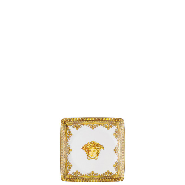 write a review for Canape Dish, Square, 4 3/4 inch | I Love Baroque Bianco