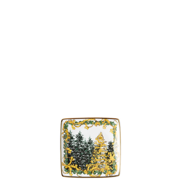 Canape Dish, Square, 4 3/4 inch | A Winter's Night