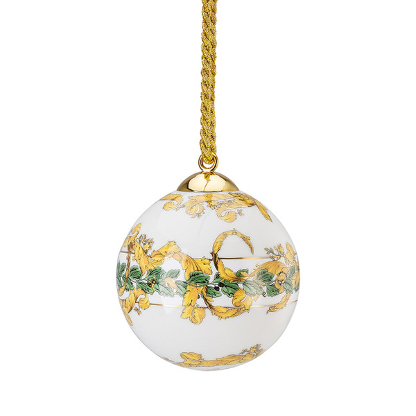 write a review for Globe Ornament, 3 inch | A Winter's Night