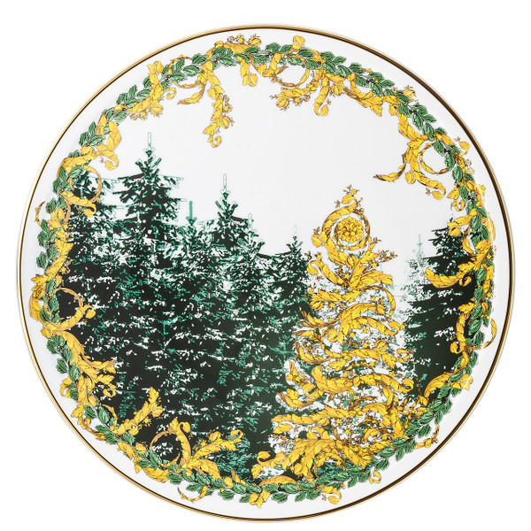 Tray, Tart Platter, 13 inch | A Winter's Night