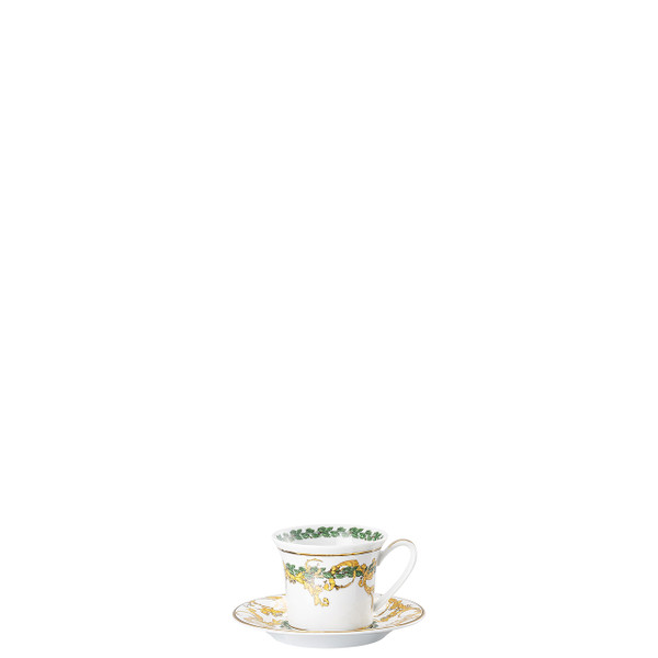 Espresso Cup and Saucer, 4 1/4 inch | A Winter's Night