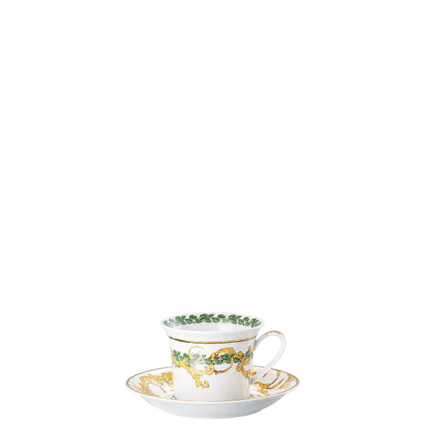 Cappuccino Cup and Saucer, 6 inch | A Winter's Night