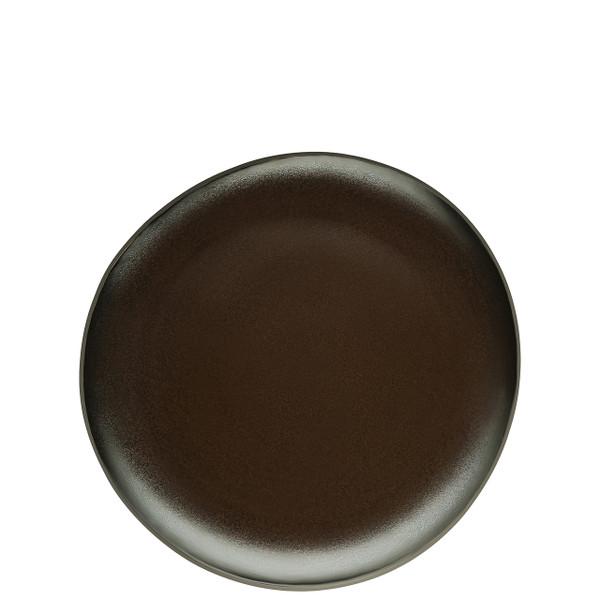 Luncheon Plate, Flat, Slate Grey, 9 7/8 inch | Junto Stoneware