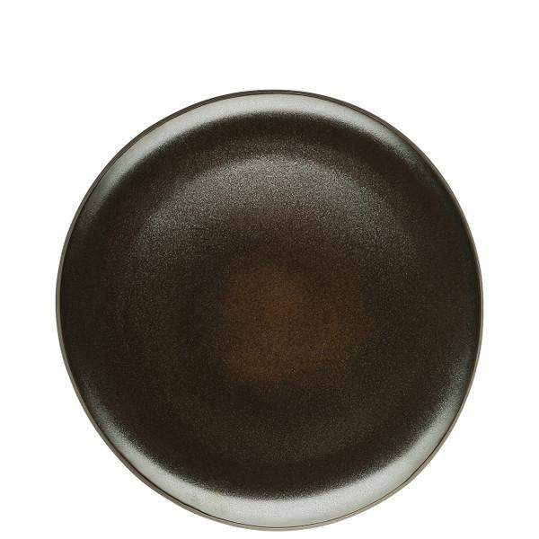 Dinner Plate, Flat, Slate Grey, 10 1/2 inch | Junto Stoneware