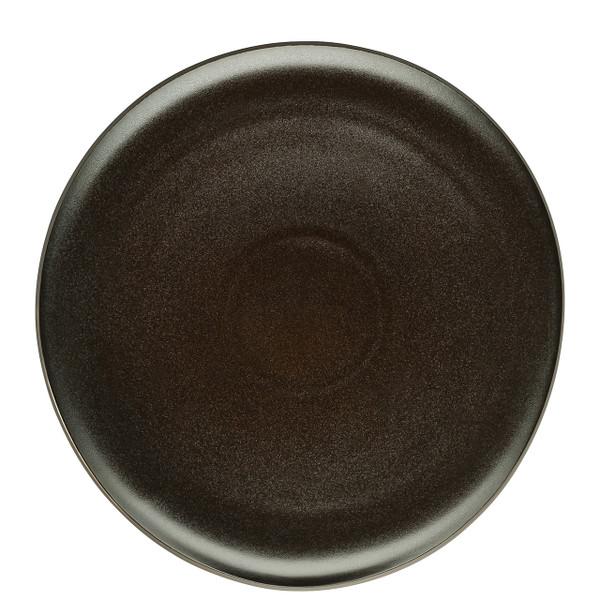 Service Plate, Flat, Slate Grey, 11 3/4 inch | Junto Stoneware