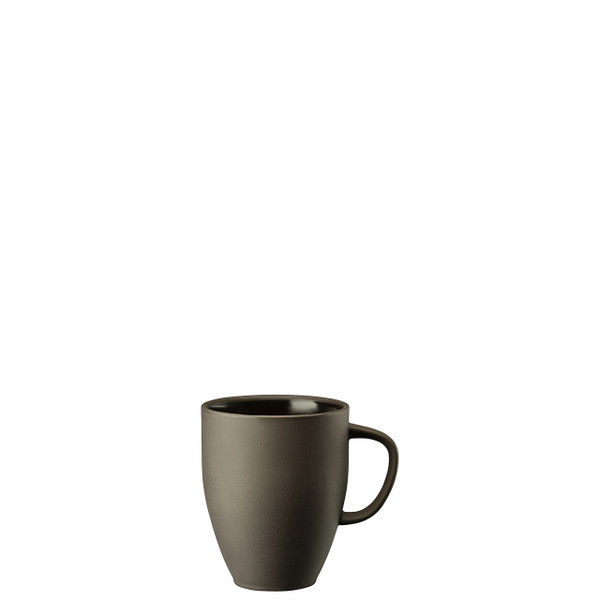 Mug with Handle, Slate Grey, 12 3/4 ounce | Junto Stoneware