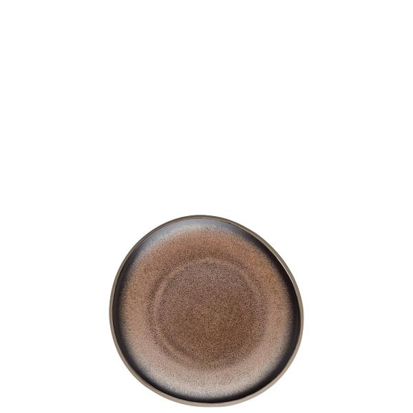 Bread and Butter Plate, Flat, Bronze, 6 1/4 inch | Junto Stoneware