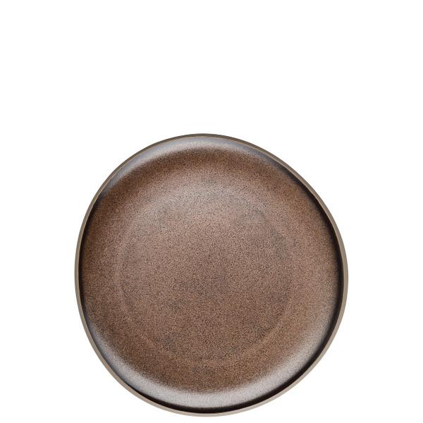 Salad Plate, Flat, Bronze, 8 2/3 inch | Junto Stoneware