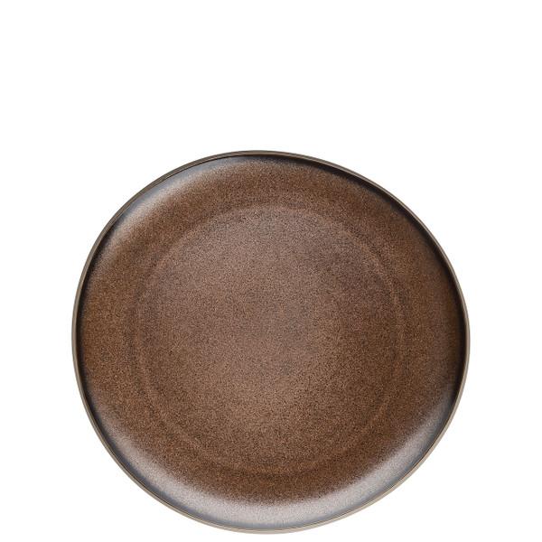 Luncheon Plate, Flat, Bronze, 9 7/8 inch | Junto Stoneware