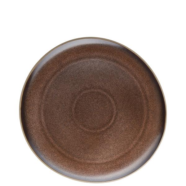 Dinner Plate, Flat, Bronze, 10 1/2 inch | Junto Stoneware