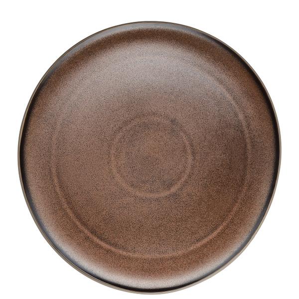 Service Plate, Flat, Bronze, 11 3/4 inch | Junto Stoneware