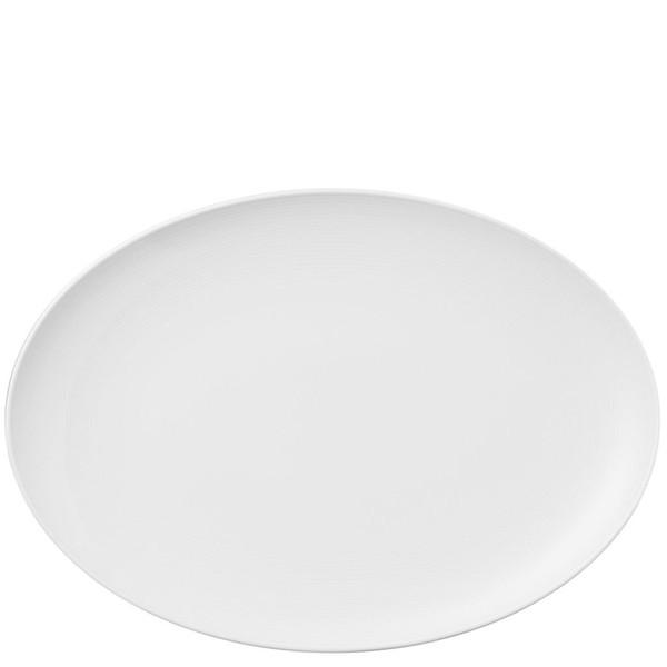 Platter, 13 1/2 inch | Thomas Loft White